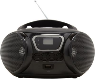 essentielb rumba usb mp3 noir radio cd boulanger. Black Bedroom Furniture Sets. Home Design Ideas