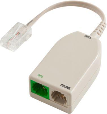 Adaptateur Ethernet essentielb filtre adsl rj45 / 2 rj11