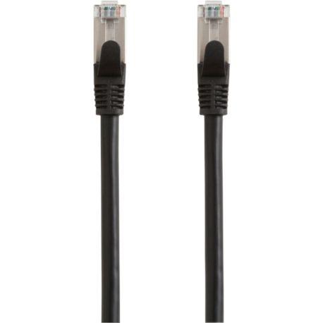 Câble Ethernet/RJ45 ESSENTIELB 5M Droit CAT6E noir