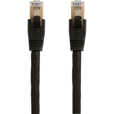 Câble Ethernet/RJ45 ESSENTIELB 2M Nylon Cross