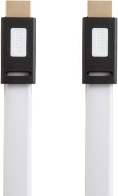 Câble Hdmi essentielb plat 2m blanc
