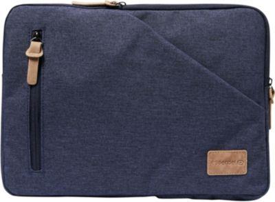 Housse Essentielb Sloop Pocket bleu 11.6