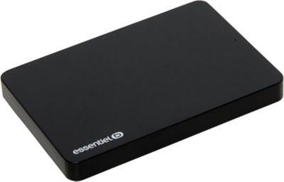 Disque ESSENTIELB 2.5' 1 To KIP Noir USB3.0