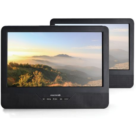 Lecteur DVD portable ESSENTIELB Mobili MS9 + Support Voiture