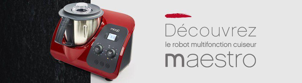 robot multifonction miogo maestro gris boulanger. Black Bedroom Furniture Sets. Home Design Ideas