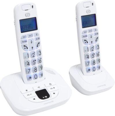 Téléphone sans fil Essentielb Confort 2 - 15.2 Blanc
