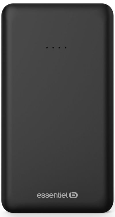 PowerBank ESSENTIELB 10 000 mAh Semaine Noir