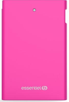 Batterie Externe essentielb 2500 mah journée -Rose