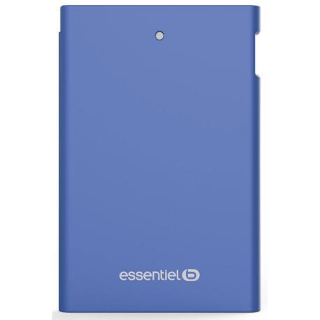 PowerBank ESSENTIELB 2500 mAh Journée -Bleu