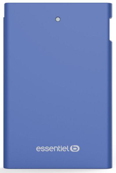 PowerBank ESSENTIELB 2500 mAh Journée Bleu