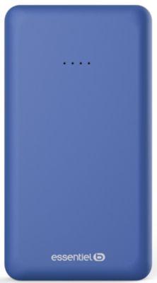 Batterie Externe essentielb 10000 mah semaine -Bleu nuit
