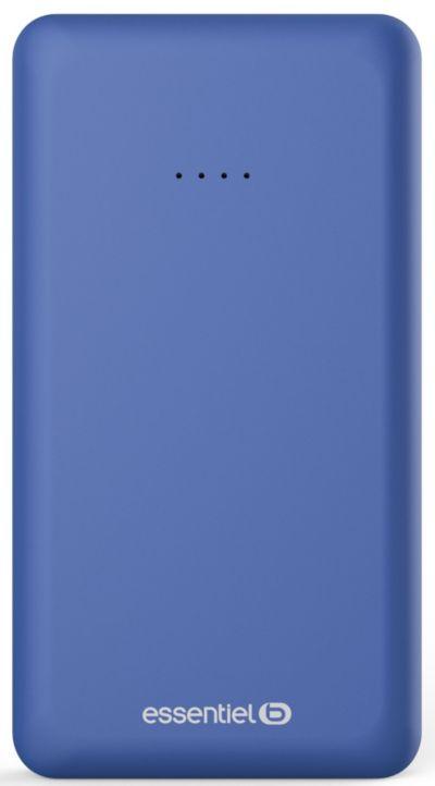 PowerBank ESSENTIELB 10 000 mAh Semaine Bleu Nuit