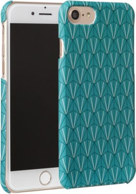 essentielb iphone 7 8 rigide graphisme turquoise accessoire iphone boulanger. Black Bedroom Furniture Sets. Home Design Ideas