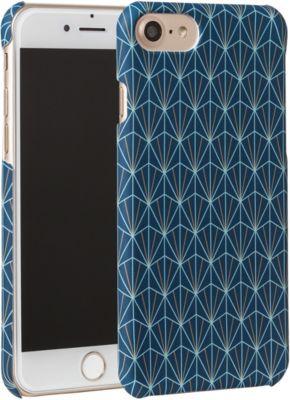 essentielb iphone 7 8 rigide graphisme bleu accessoire. Black Bedroom Furniture Sets. Home Design Ideas