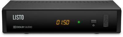 Décodeur TNT Listo TNT-T2-808