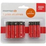 Pile ESSENTIELB 9+3 AAA LR03