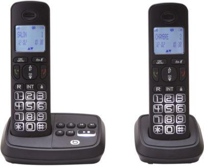 essentielb lumi line 15 2 t l phone sans fil boulanger. Black Bedroom Furniture Sets. Home Design Ideas