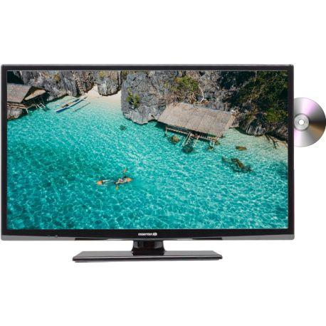 TV ESSENTIELB Velinio 24'' Combo DVD Noir