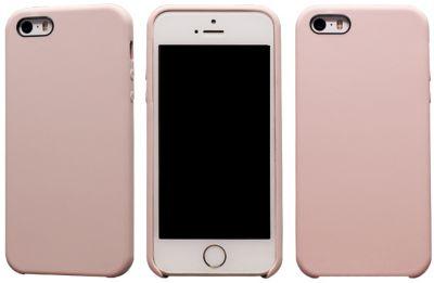 Coque Essentielb iphone 5s/se rigide velvet rose pale