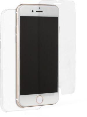Coque + protège écran essentielb iphone 7/8 plus rigide + verre trempé