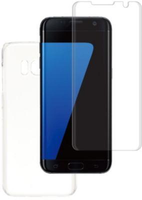 Coque + protège écran essentielb s7 edge coque rigide + verre trempé