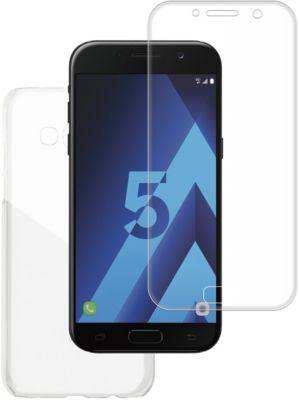 Coque + protège écran essentielb a5 2017 coque rigide + verre trempé 3d