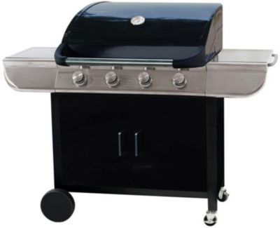 Barbecue Gaz essentielb ebgz 4 avec housse