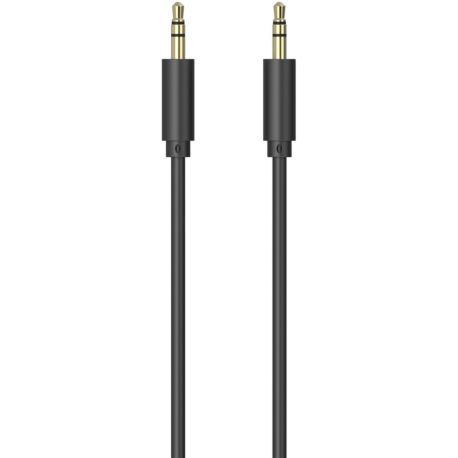 Câble Jack ESSENTIELB 1M 3.5/3.5 Noir