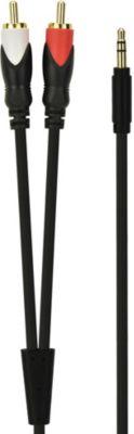 Câble Jack/RCA Essentielb J3,5 mm/RCA - 1,5M