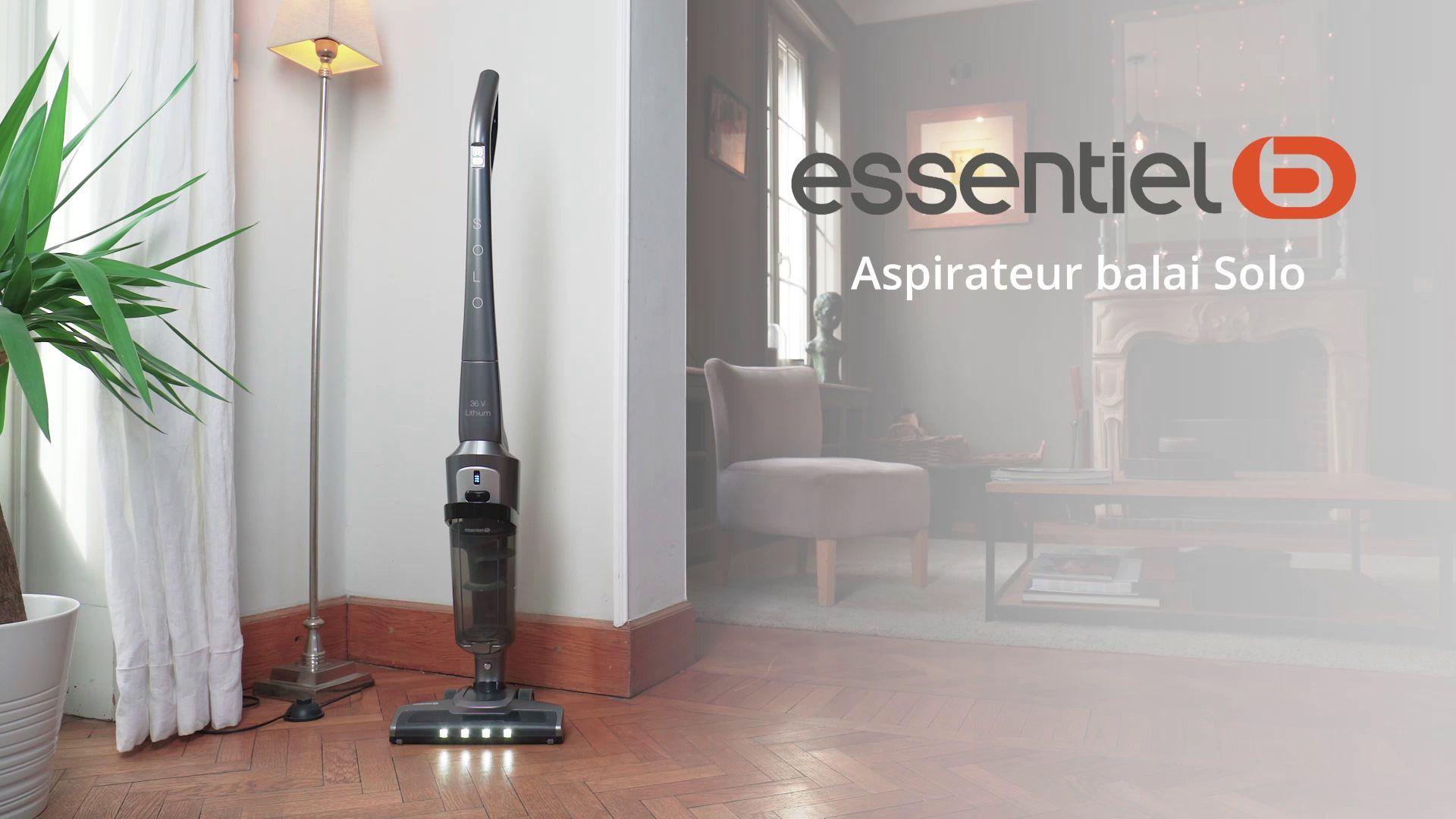 Essentielb EAMO 360 SOLO Aspirateur balai | Boulanger