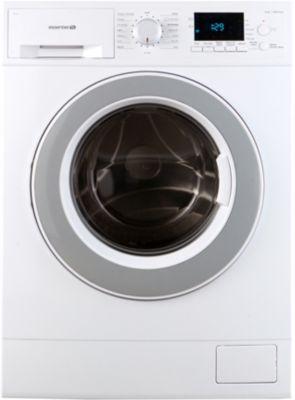 Lave linge hublot Essentielb ELF 814DD4 + Sèche linge à condensation Essentielb ESLC8D5