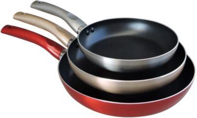 Batterie de cuisine essentielb scintillo 3 poêles diam 20-24-28 cm