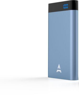 Batterie Externe adeqwat 8000 mah bleu