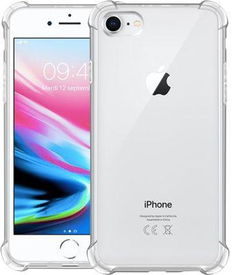 Coque Essentielb iphone 7/8 anti choc grise