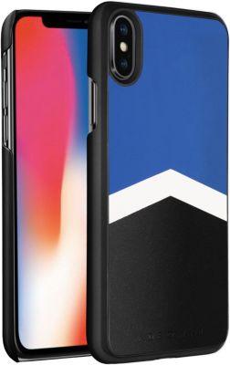 Coque Adeqwat iphone x / xs logo bleu