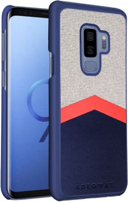 Coque Adeqwat Galaxy S9+ Logo Grise