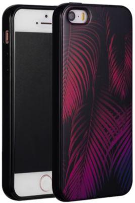 Coque Essentielb iphone 5/se tropical rose