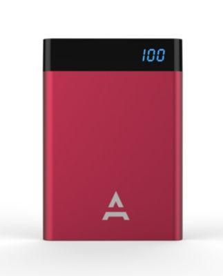 Batterie Externe adeqwat 4000 mah bordeau