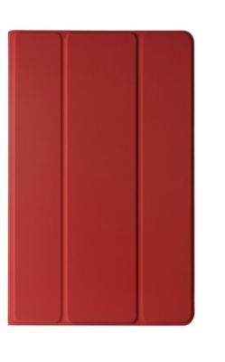 Etui Essentielb Tab A6 10.1' Rotatif Red