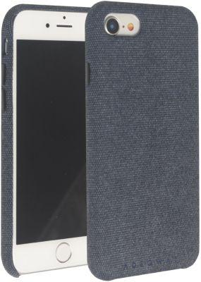 Coque Adeqwat iphone 7/8 textile bleu foncé