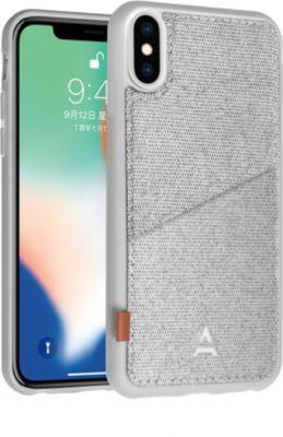 Coque Adeqwat iphone x / xs aimantée range carte gris