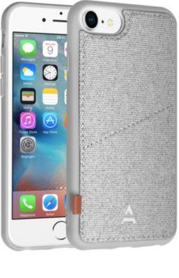 Coque Adeqwat iphone 7/8 aimantée porte carte gris