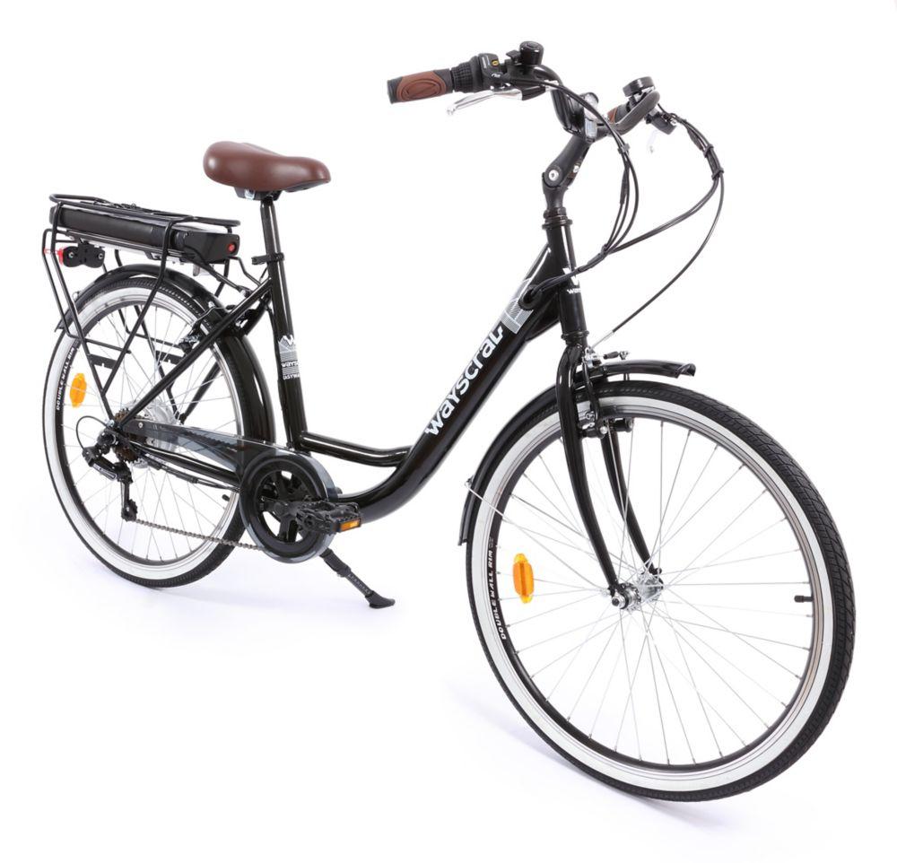 Easyway Vélo À Électrique Wayscral Noir Assistance E100 8n0Nmw