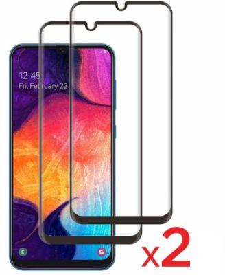 Protège écran Essentielb Samsung A50 Verre trempé intégral x2