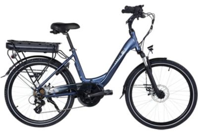 Vélo VAE ESSENTIELB URBAN 600 bleu nuit