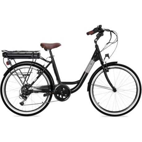 Vélo VAE ESSENTIELB Urban 400 Noir