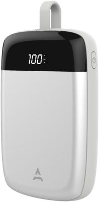Batterie externe Adeqwat Type C 10 000mAh Silver