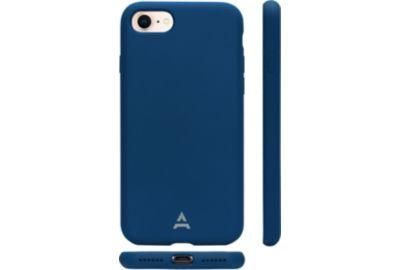 Coque ADEQWAT iPhone 7/8 Silicone bleu
