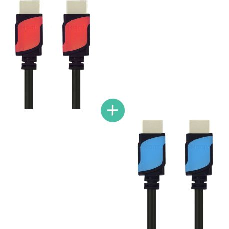 Ecopack ESSENTIELB x2 cables HDMI