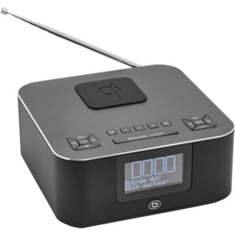 Radio-réveil ESSENTIELB RRV-300DAB+ - Charge induction